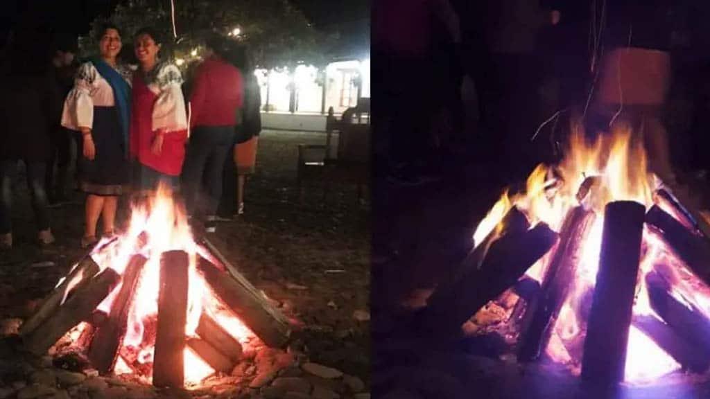 hacienda zuleta bonfire