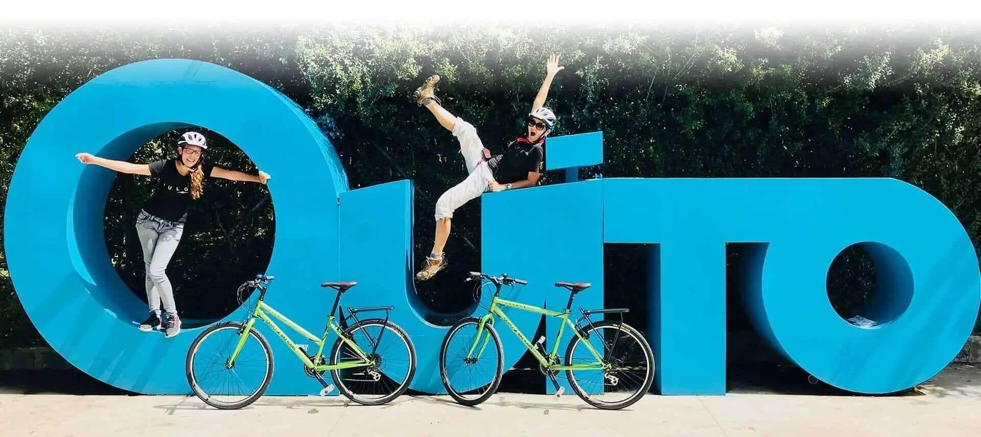 quito biking tour ecuador