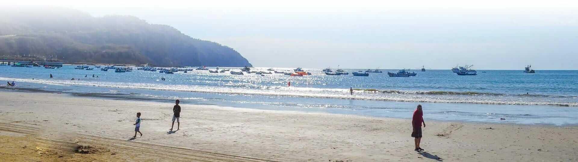 machalilla ecuador beach