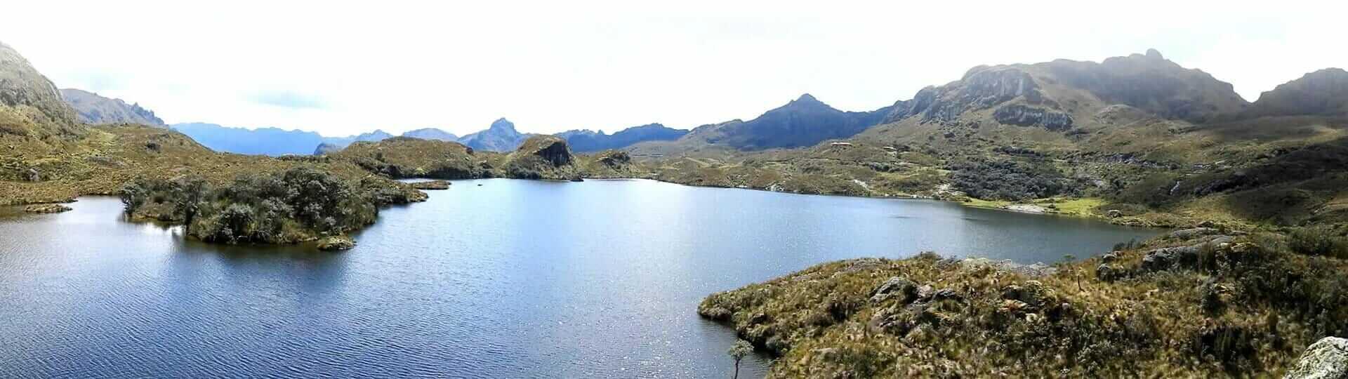 el cajas national park landscape ecuador