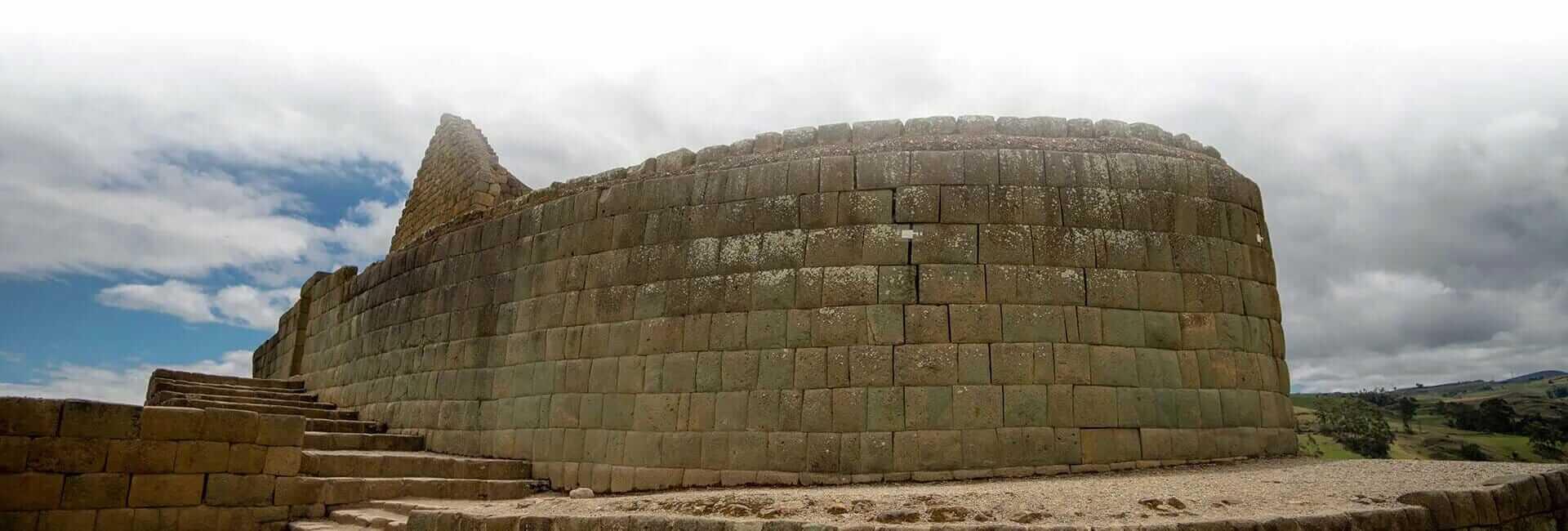 ingapirca ruins inca wall ecuador