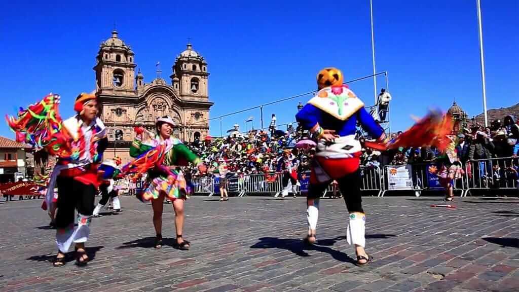inti raymi dance festival ecuador
