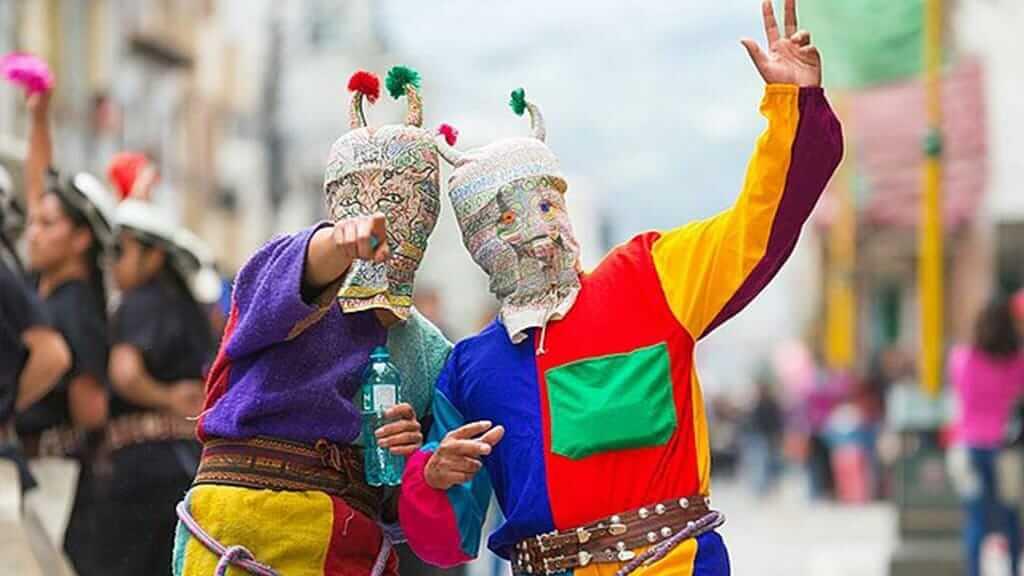 Dress up for Kapak Raymi Festival Ecuador