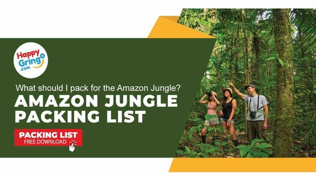 amazon packing list amazon jungle tours