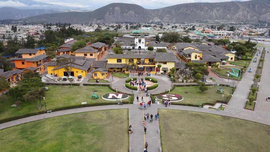 mini city mitad del mundo ecuador
