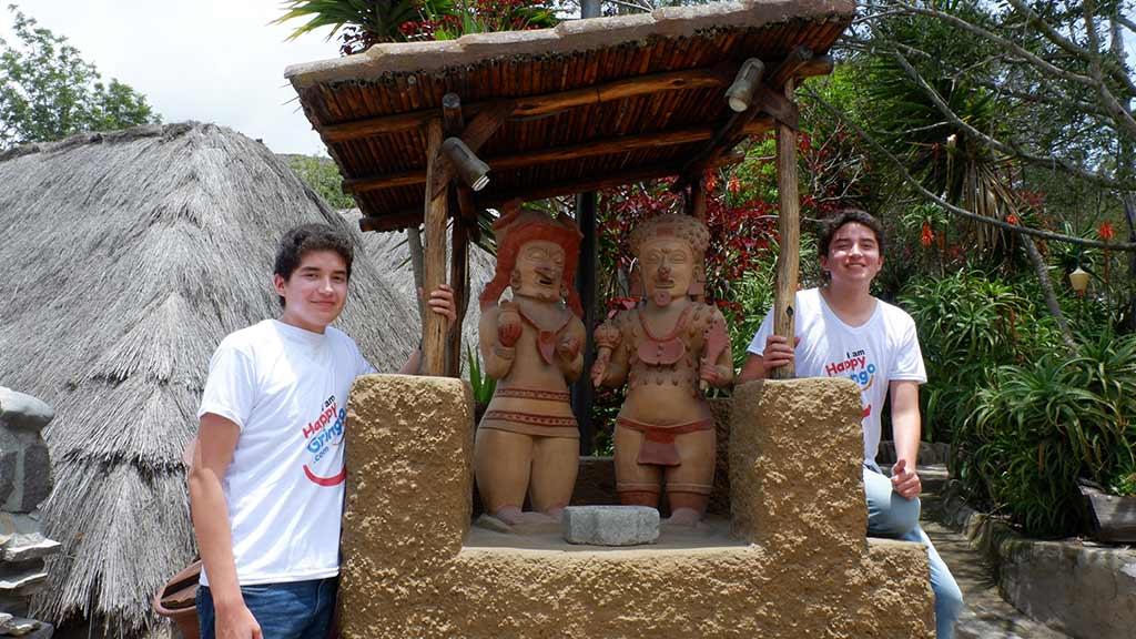 inti ñan museum at the equator